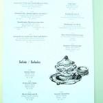 アントレ スープ サラダの順 ドイツ語 フランス語 英語の順。