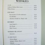 ウィスキー。ヘミングウェイは何を飲んでいたか?